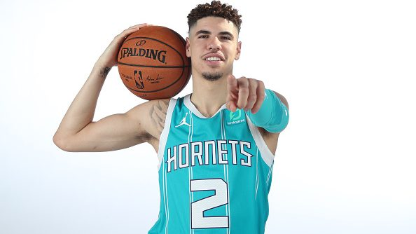 Hornets guard LaMelo Ball