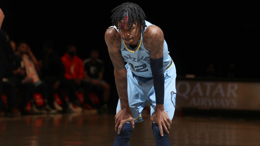 Grizzlies guard Ja Morant