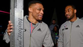 Rockets star Russell Westbrook and Wizards guard John Wall