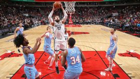 Grizzlies center Jonas Valanciunas vs. Bulls