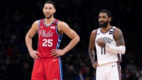 76ers star Ben Simmons and Nets star Kyrie Irving