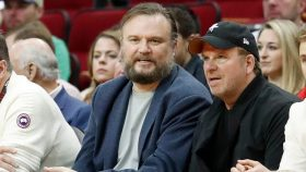 76ers president Daryl Morey and Rockets owner Tilman Fertitta