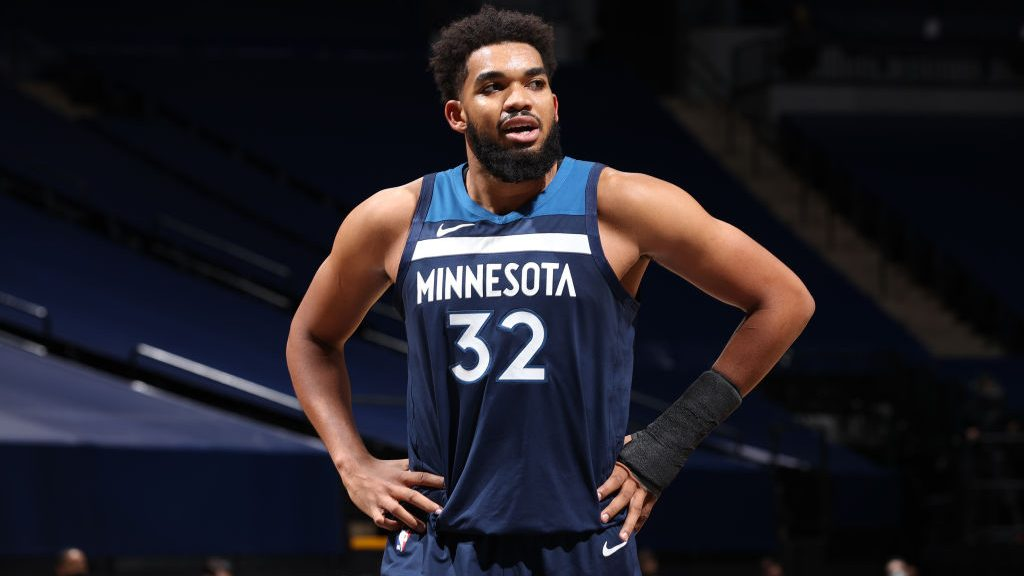 Timberwolves star Karl-Anthony Towns