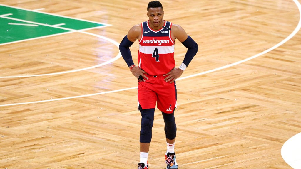Wizards guard Russell Westbrook
