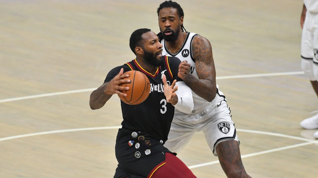 Cavaliers center Andre Drummond and Nets center DeAndre Jordan