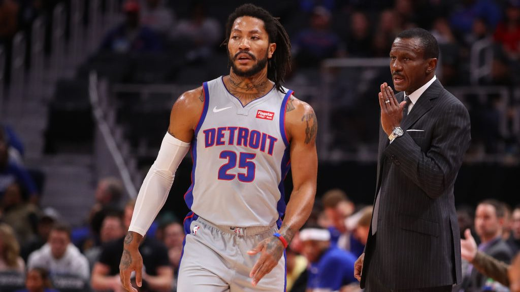 As Knicks trade neared, Dwane Casey told Derrick Rose that Pistons might offer equal playoff odds - NBC Sports