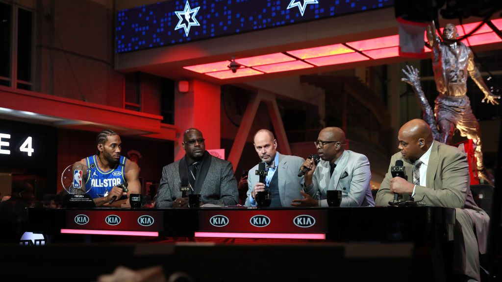 TNT at NBA All-Star game