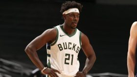 Bucks guard Jrue Holiday