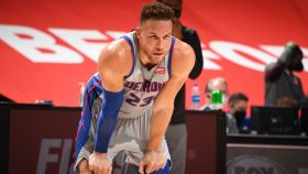 Pistons forward Blake Griffin