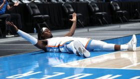 Thunder guard Luguentz Dort