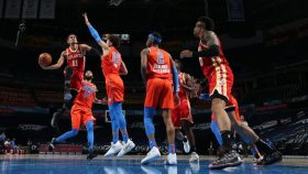 Atlanta Hawks v Oklahoma City Thunder