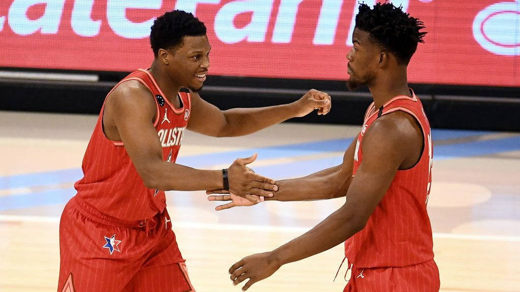 Raptors star Kyle Lowry and Heat star Jimmy Butler
