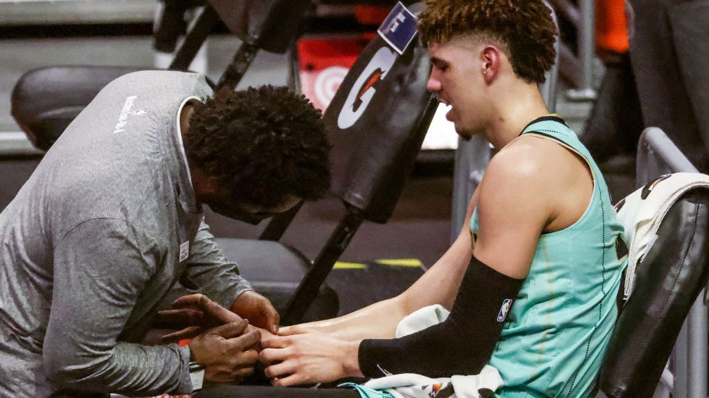 Hornets rookie LaMelo Ball