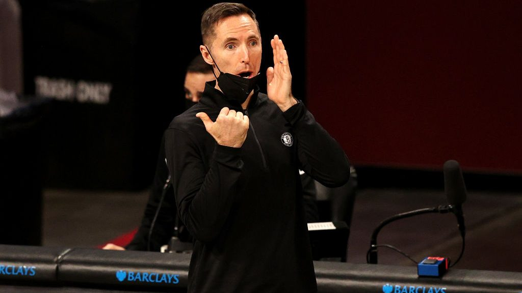 Nets coach Steve Nash