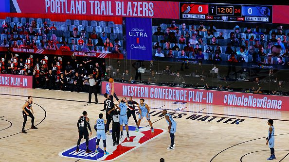 Grizzlies and Trail Blazers in NBA play-in game