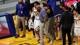 Nuggets guard Jamal Murray suffers torn ACL vs. Warriors
