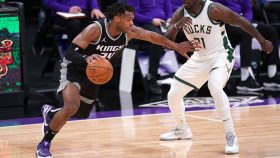 Buddy Hield in Kings-Bucks