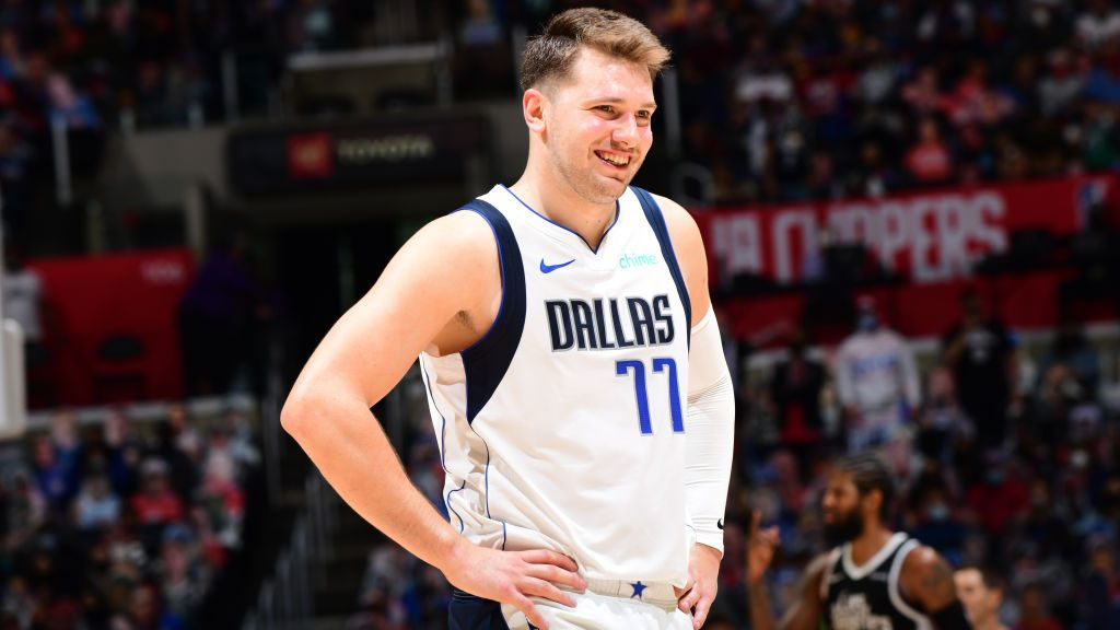 Luka Doncic in Mavericks-Clippers Game 1
