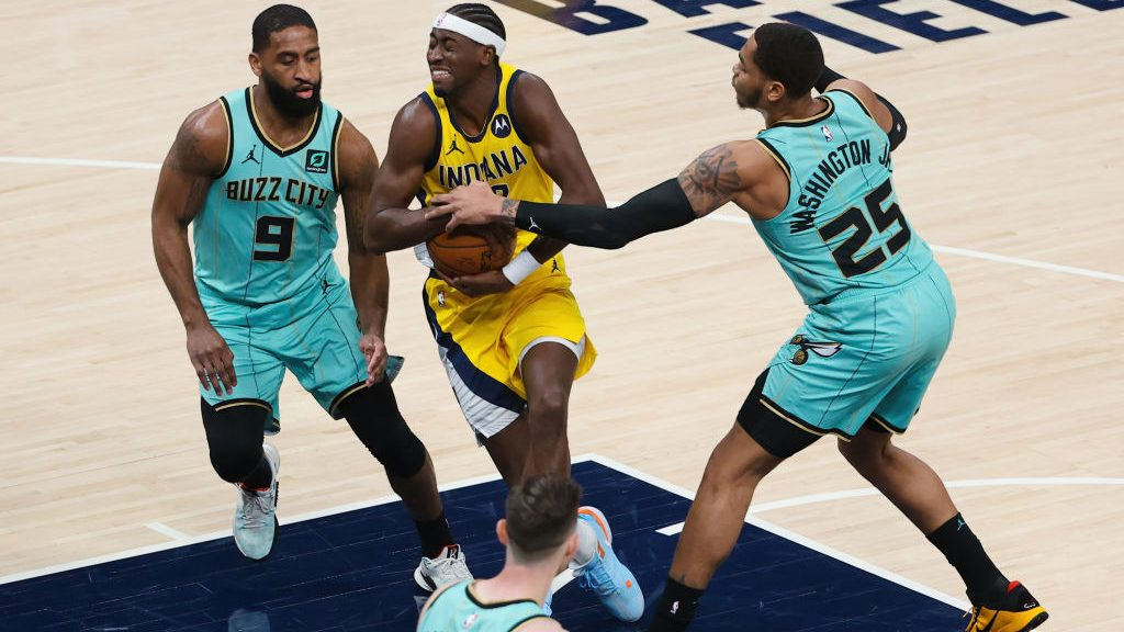 Caris LeVert in Pacers-Hornets
