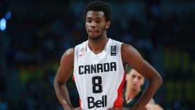 Andrew Wiggins with Team Canada