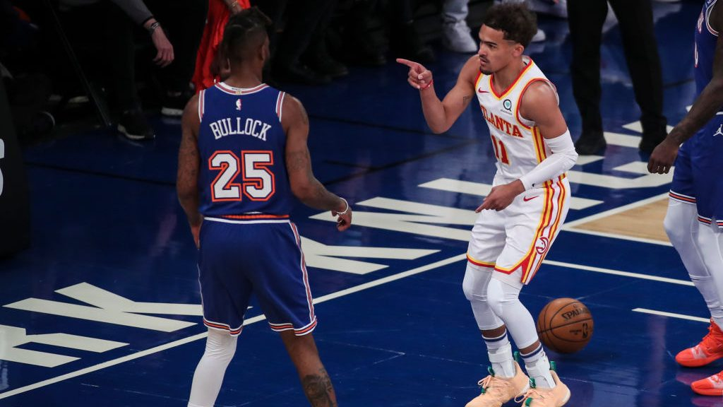 Trae Young in Hawks-Knicks Game 5