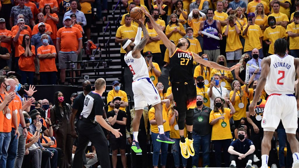 Defensive Player of the Year Rudy Gobert