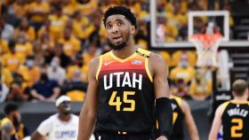 Donovan Mitchell in Jazz-Clippers Game 2
