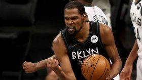 Kevin Durant in Nets-Bucks Game 5