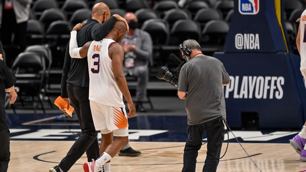 Chris Paul after Suns-Nuggets second-round series