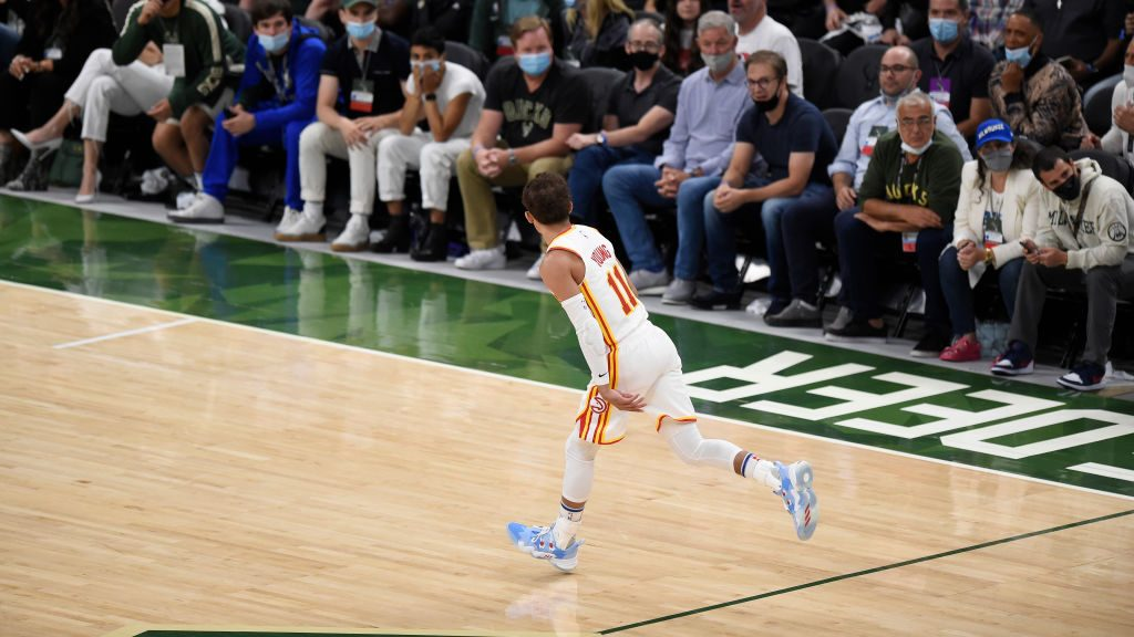 Trae Young in Hawks-Bucks Game 1 of Eastern Conference finals