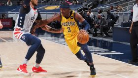 Aaron Holiday in Pacers-Wizards