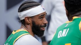 Jazz guard Mike Conley