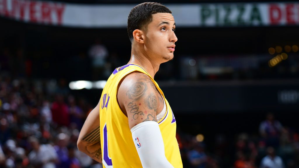 Asked about averaging 25 PPG and becoming an All-Star, Lakers forward Kyle Kuzma: 'I definitely can'