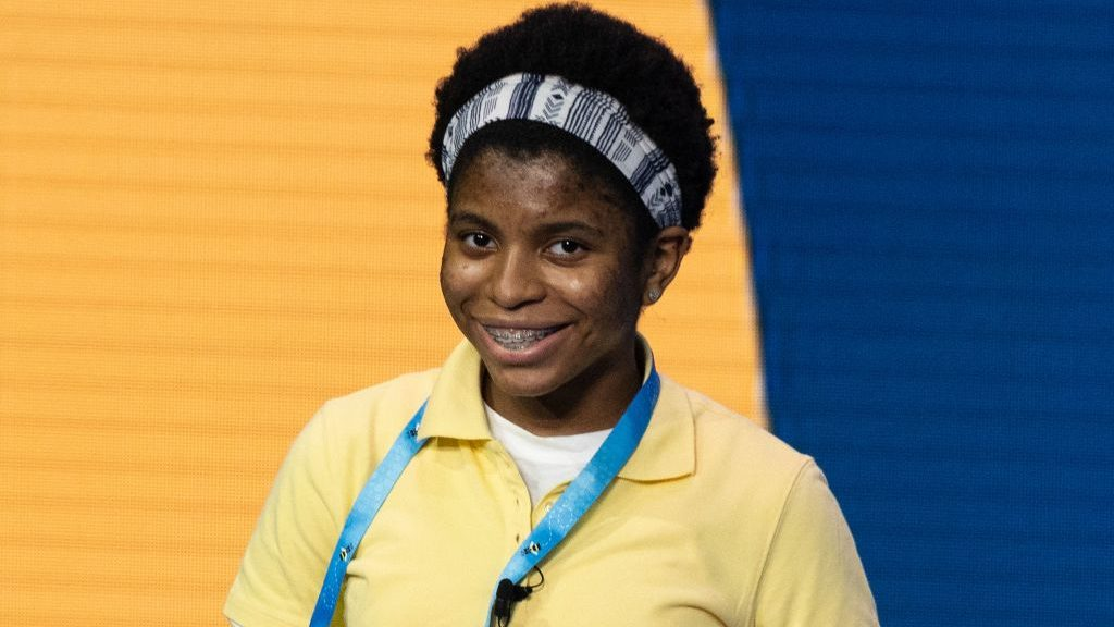 Zaila Avant-garde competes in the Scripps National Spelling Bee