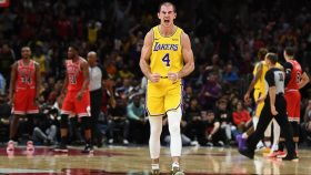 Alex Caruso inLos Angeles Lakers v Chicago Bulls