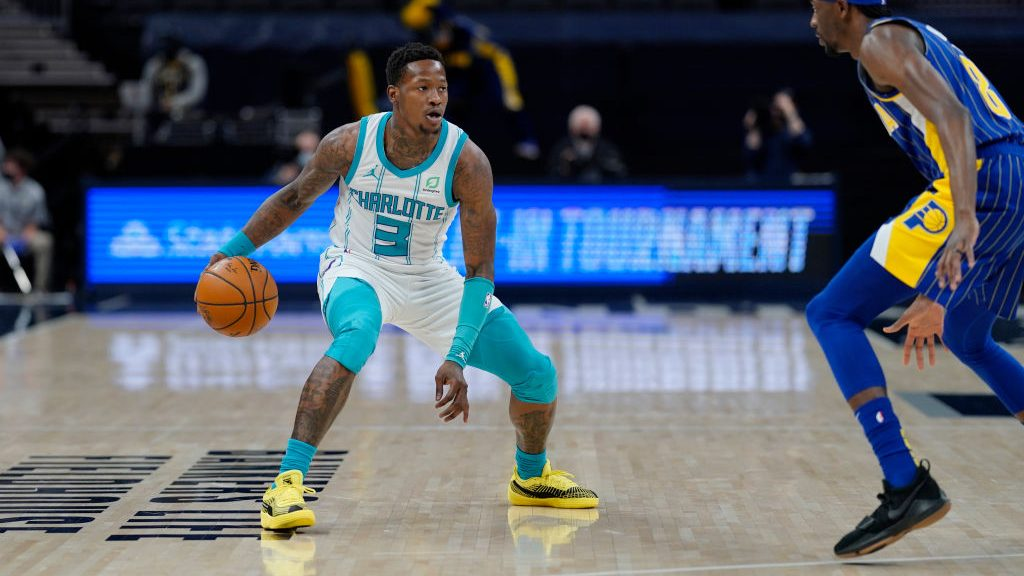 Hornets guard Terry Rozier