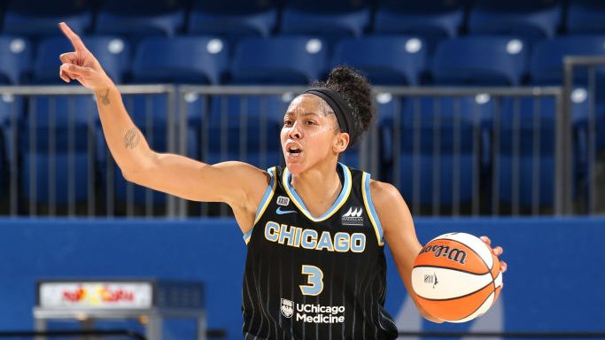 Candace Parker's double-double lifts Chicago, eliminates Dallas in WNBA playoffs