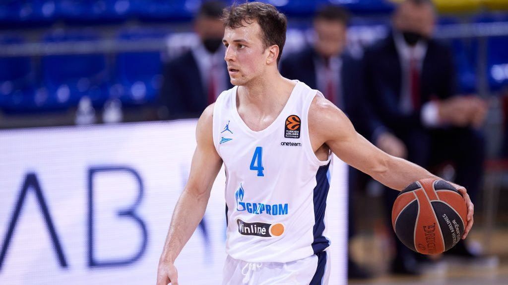 Kevin Pangos in FC Barcelona v Zenit St Petersburg: Turkish Airlines Euroleague Play Off Game 5
