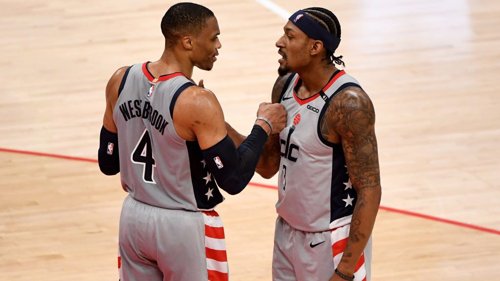 Russell Westbrook and Bradley Beal with Wizards
