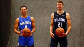 Magic rookies Jalen Suggs and Franz Wagner