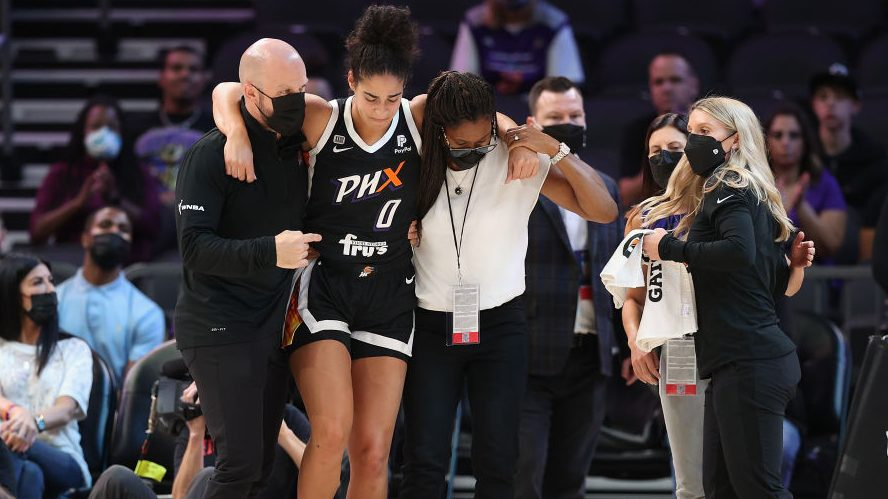 Mercury starting wing Kia Nurse out for WNBA Finals after tearing ACL