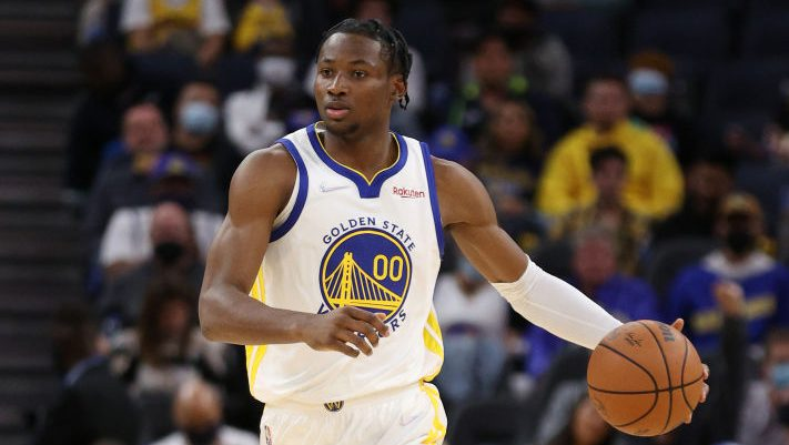 Warriors rookie Kuminga out at least a week with strained knee